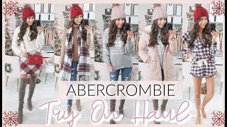 ABERCROMBIE BLACK FRIDAY TRY ON HAUL | WINTER OUTFITS 2019
