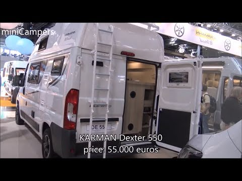 The 2018 KARMAN Dexter Camper vans - YouTube