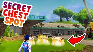 SECRET CHEST IN NEW MAP UPDATE *0.1% PLAYERS KNOW THIS* (FORTNITE BATTLE ROYALE)