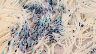 Dyeing Speckled Yarn 6+ Ways Using Two Acid Dye Colors - 2019 Chanukah Night 1