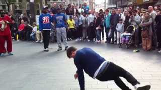 Street Dance In Leicester Square London