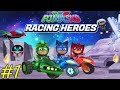 Fun Racing Game - PJ Masks Racing Heroes - Gameplay Walkthrough Part 1 - Levels 1-16 (iOS, Android)