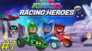 Fun Racing Game - PJ Masks Racing Heroes - Gameplay Walkthrough Part 1 - Levels 1-16 (iOS, Android)