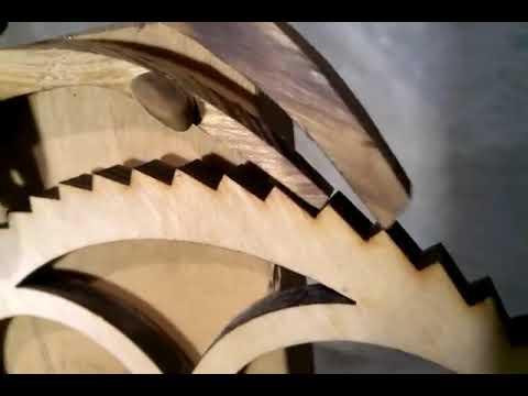My Wooden Gear Clock