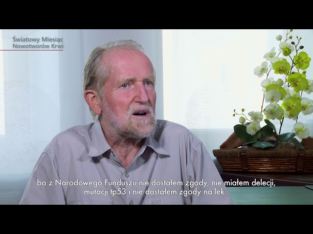 HISTORIE PACJENTÓW Edward Olech   Miesiąc Nowotworów Krwi