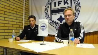 Presskonferens IFK Värnamo - J-Södra