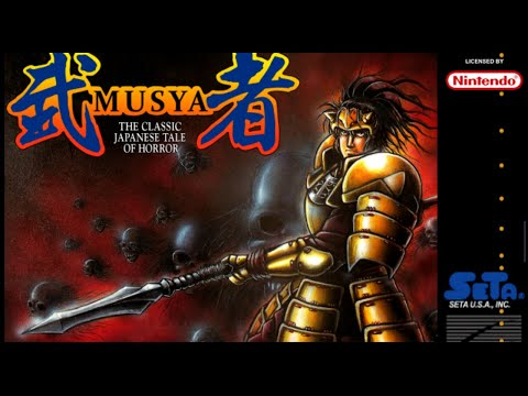 SNES Longplay #29: Musya: The Classic Japanese Tale of Horror
