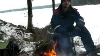 Gädda Esox lucius - Pike Daniel Andersson berättar sanningar ! 22a Jan  -09  Raballtviken
