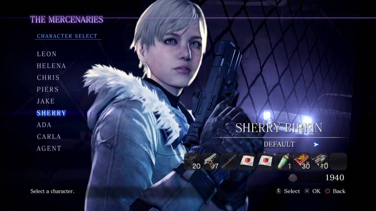 Resident Evil 6 All Characters And Costumes Youtube