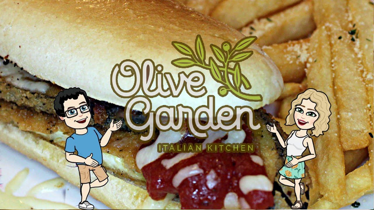 Tasty Thursday Olive Garden Eggplant Parmigiana Breadstick Sandwich