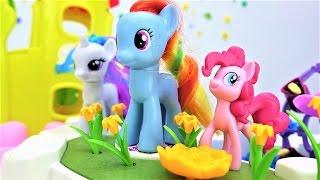 Видео для девочек - Май литл пони оказались в городе