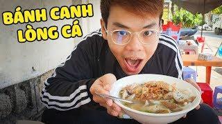 Bánh canh lòng cá siêu lạ ở Nha Trang (Oops Banana)