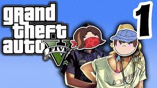 Grand Theft Auto V: Death and Destruction - PART 1 - Steam Train