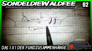 Repeat youtube video Sondeln Hintergrundwissen - Das Ein mal Eins der Fundzusammenhänge