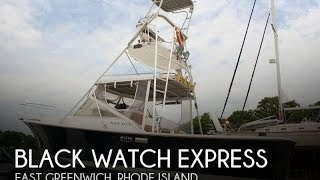 [UNAVAILABLE] Used 1987 Black Watch Express in East Greenwich, Rhode Island