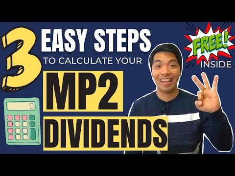 Three (3) Easy Steps to Calculate Your MP2 Dividends - Plus + Freebies Inside!