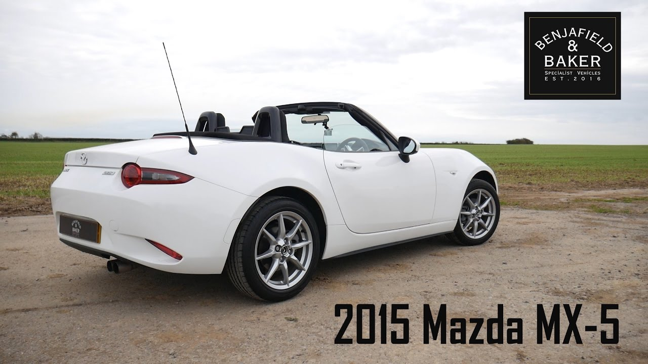 Mazda MX5 - The economical 2 seater sports car (with Nathaniel cars