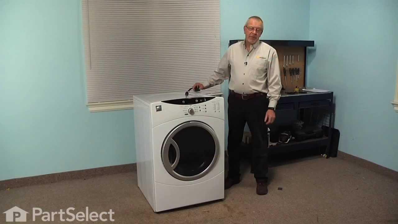 Dryer Repair Replacing The Top Bearing Ge Part