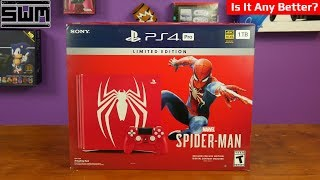 Unboxing And Tearing Down The Spider-Man PS4 Pro | Is It Any Better?