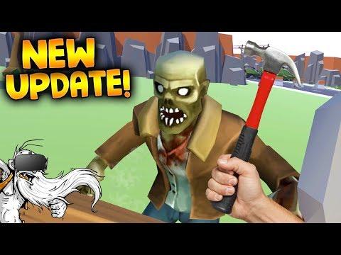 "Undead Development VR Gameplay - ""HUGE NEW CONTENT UPDATE!!!"" - Let's Play Undead Development"
