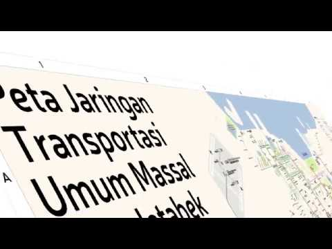 Jakarta Metropolitan Mass Transit Network Map