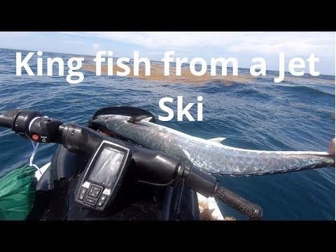 King Fish In Rough Weather  | Florida Jetski Fishing