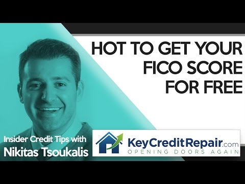 Key Credit Repair: How To Get Your FICO Score For Free