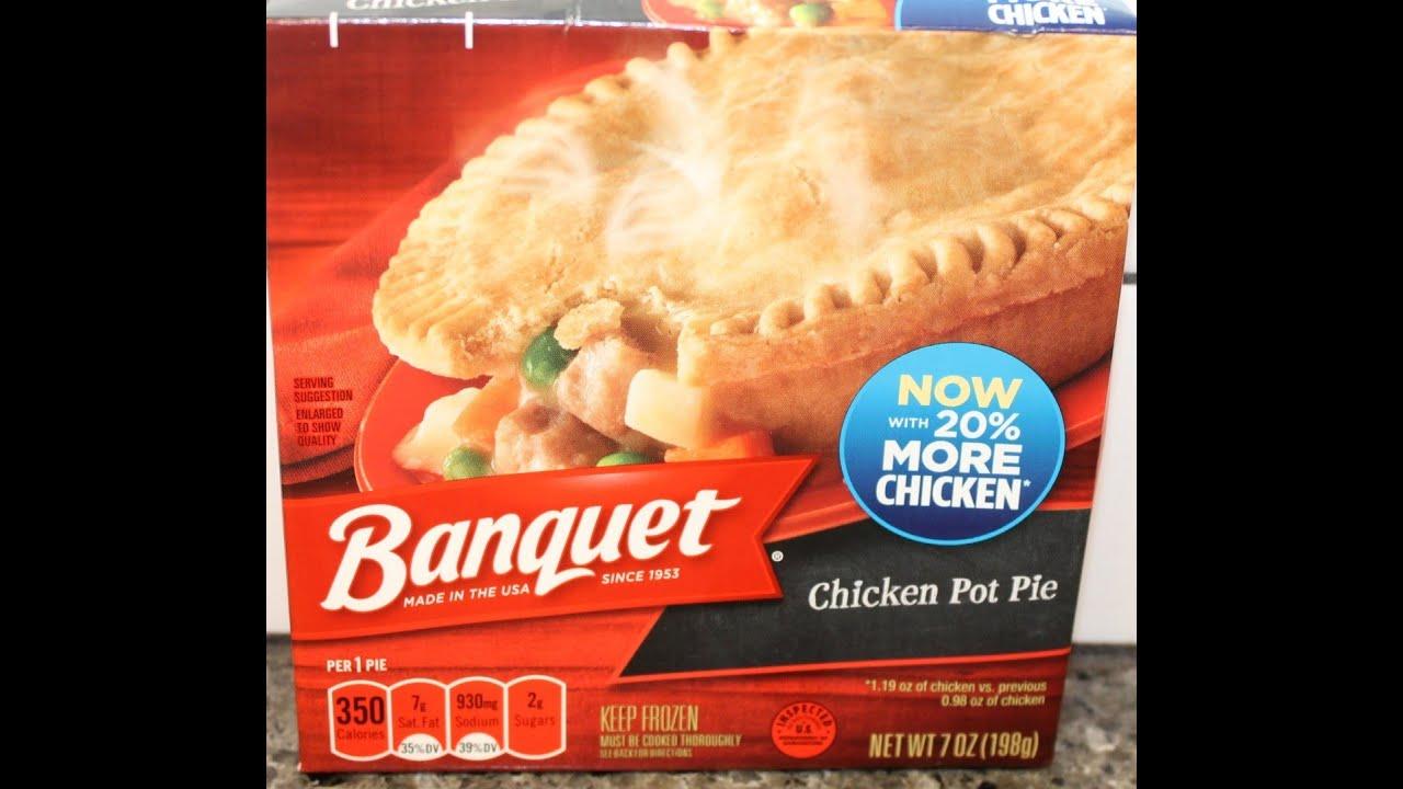 Banquet Chicken Pot Pie Review - YouTube