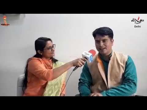 Talk with Gopal sharma ji    DIYA DELHI