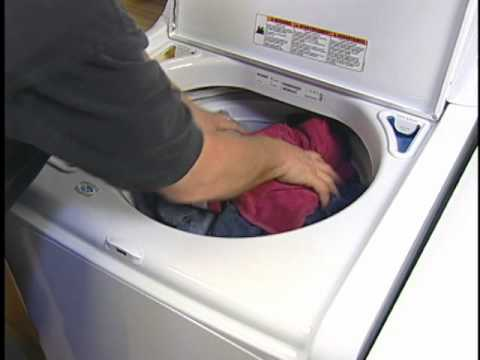 Lint on Clothing from Top Load Washer: Washing Machine