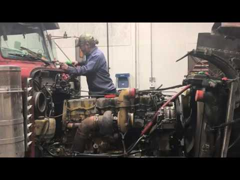 THE SNAP ON JUNKIE CATAPILLAR 3406E ENGINE TEARDOWN