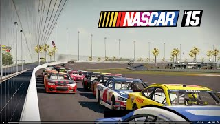 NASCAR 15 Gameplay PC Maxed Out 1080p60fps