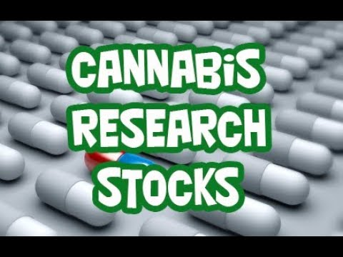 5 Medical Marijuana Research Stocks To Watch 2017 & 2018