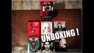 [UNBOXING] AMERICAN HORROR STORY Coffret intégral saison 1 à 6 (Blu Ray)