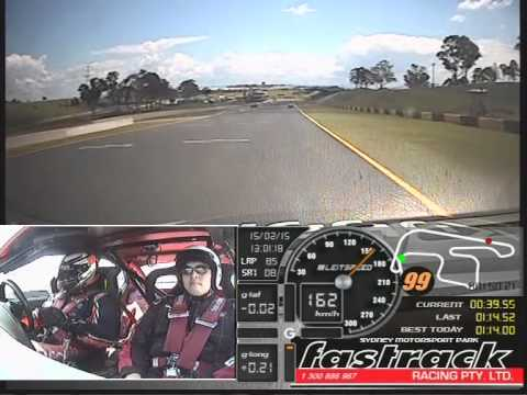 V8 Fastrack Racing Experience (Pro Hot Laps) - Eastern Creek, Sydney