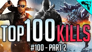 "Top 100 Kills - Battlefield 4, Hardline, CoD: Black Ops 2, Advanced Warfare - Part 2 ""WBCW"" #100"