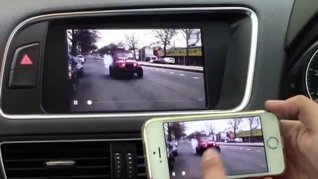 Audi Q5 S Line Mirrorlink Youtube