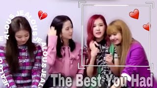 The Best You Had    Jenlisa    Jealous Moments