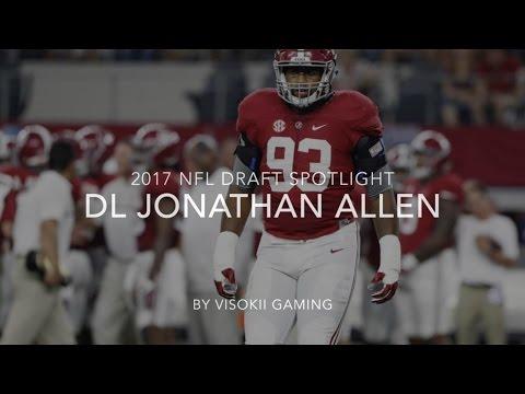 2017 NFL Draft Spotlight   Jonathan Allen