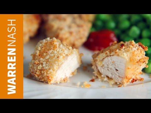 Chicken Nuggets Recipe - Healthy McDonalds alternative - Recipes by Warren Nash
