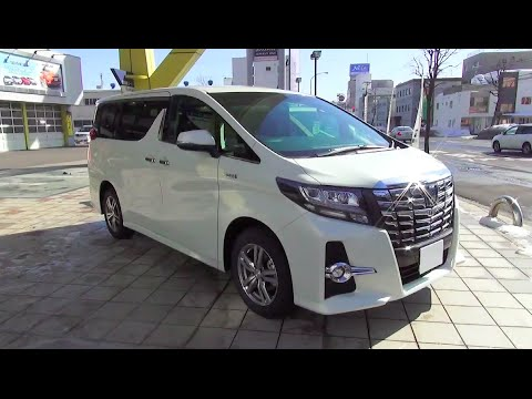 "2015 TOYOTA ALPHARD HYBRID SR ""C Package"" 4WD - Exterior & Interior"