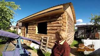 видео Портфолио деревянных домов, бань, срубов