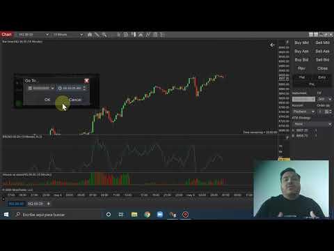 Como descargar data para hacer Backtesting en Ninja Trader
