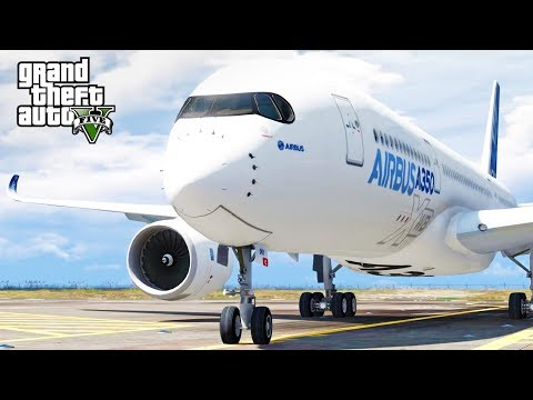 GTA 5 SP #66 - Airbus A350 Mod