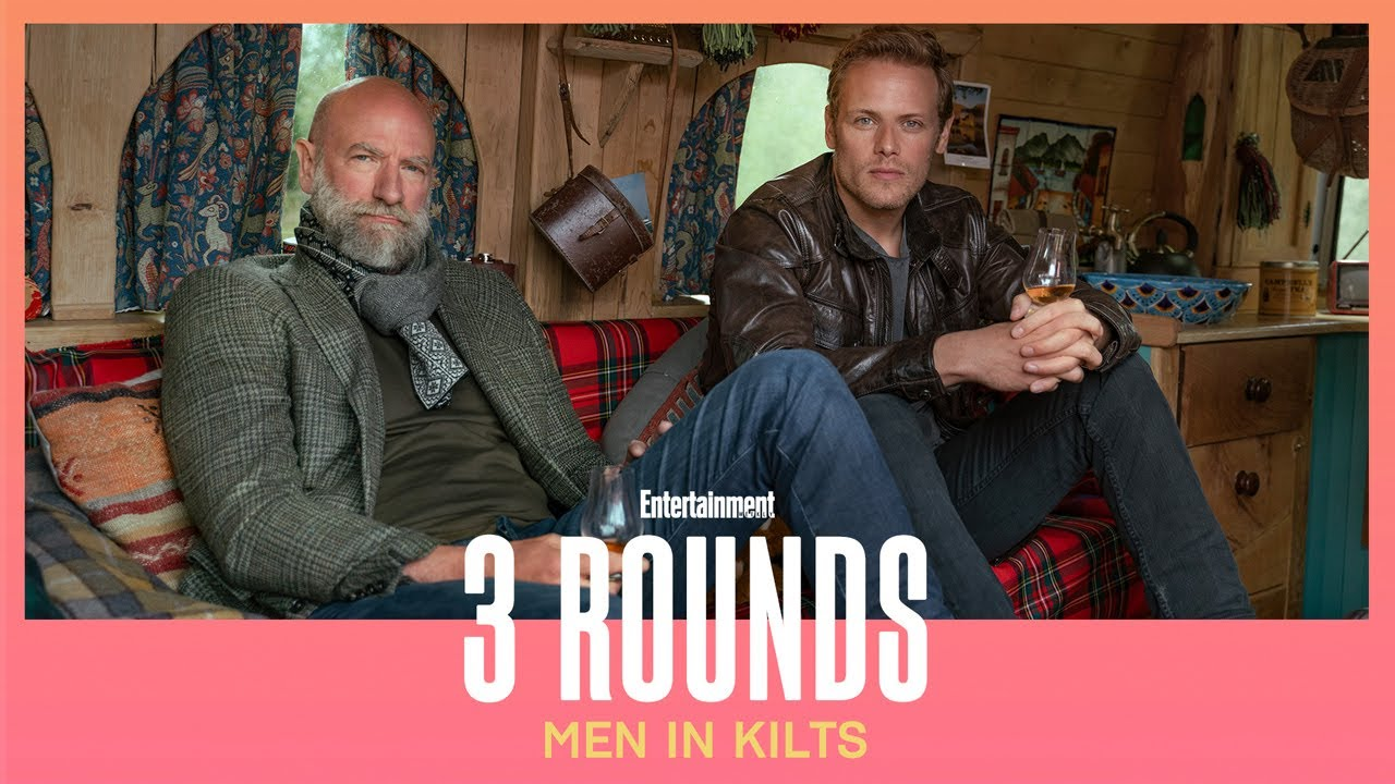 We drank three rounds with Men in Kilts stars Sam ...