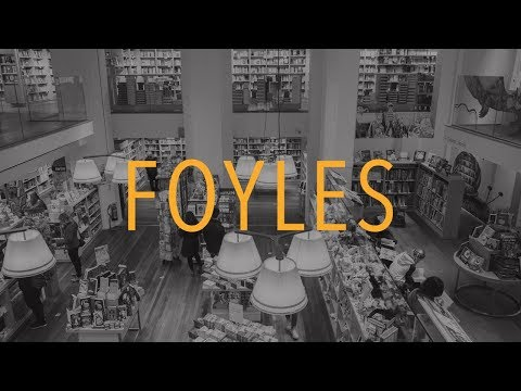 Bookstore Tour | FOYLES Books, London