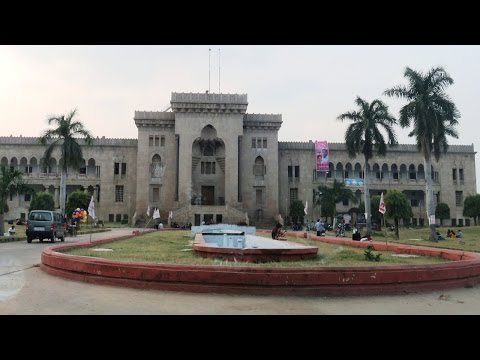 Osmania University Campus Parikrama - Hyderabad