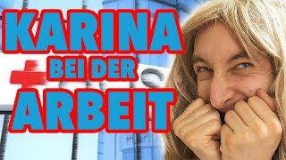 Karina bei der Arbeit - Ärztin (Teil 2)
