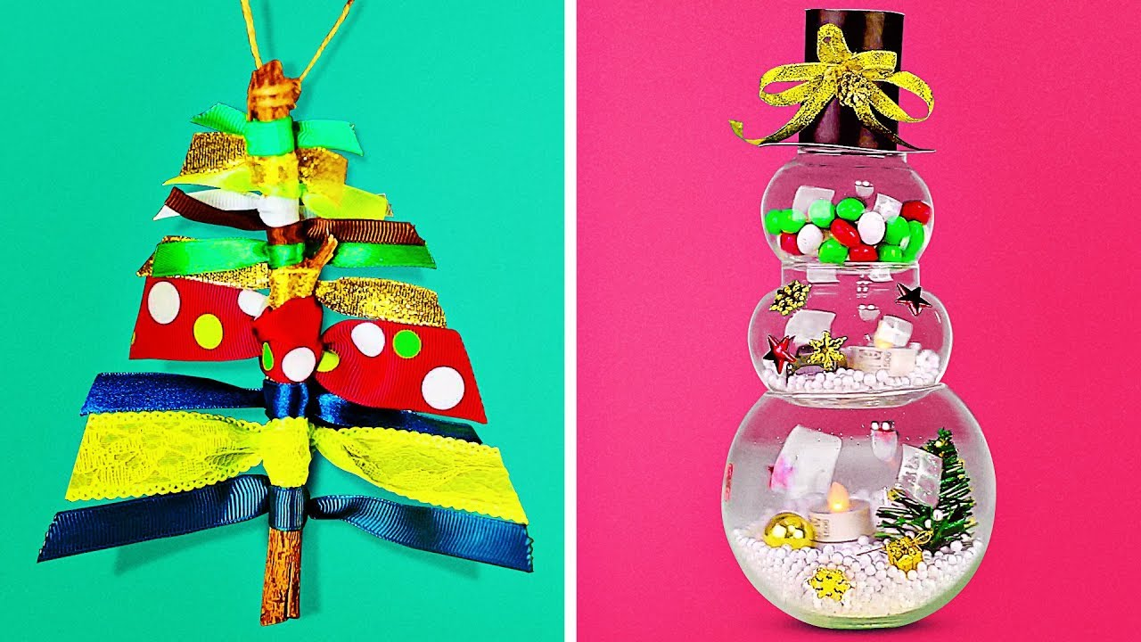 15 LOVELY CHRISTMAS CRAFTS KIDS WILL LOVE TO MAKE - YouTube