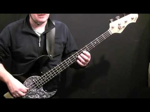 How To Play Bass Guitar To Exodus - Bob Marley - Aston Family Man Barrett